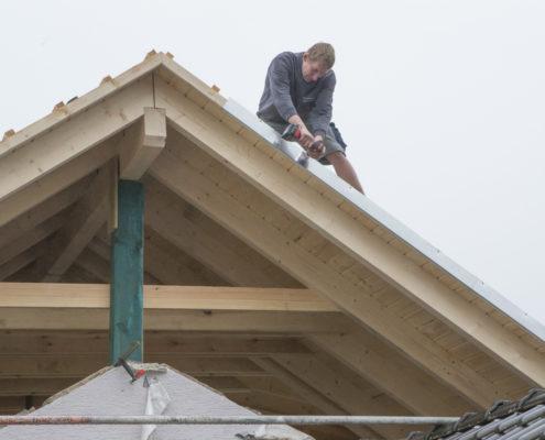 Aufstockung mit Holzbau Schleifenheimer