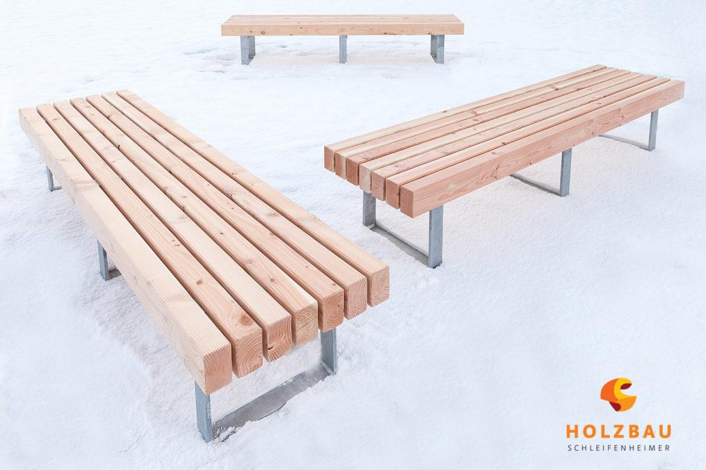 Holzbank: Wir fertigen Ihre individuellen Formen auf Anfrage